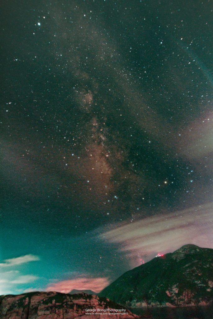 使用650D mod. 拍攝的夏季銀河