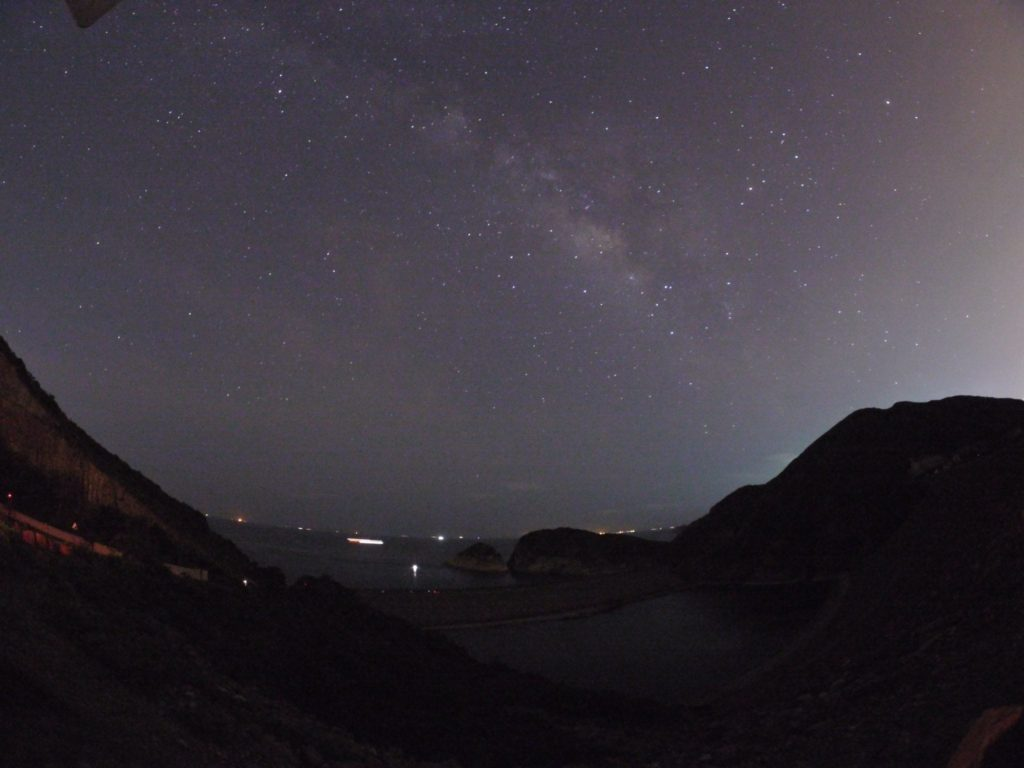第一次到東壩影銀河