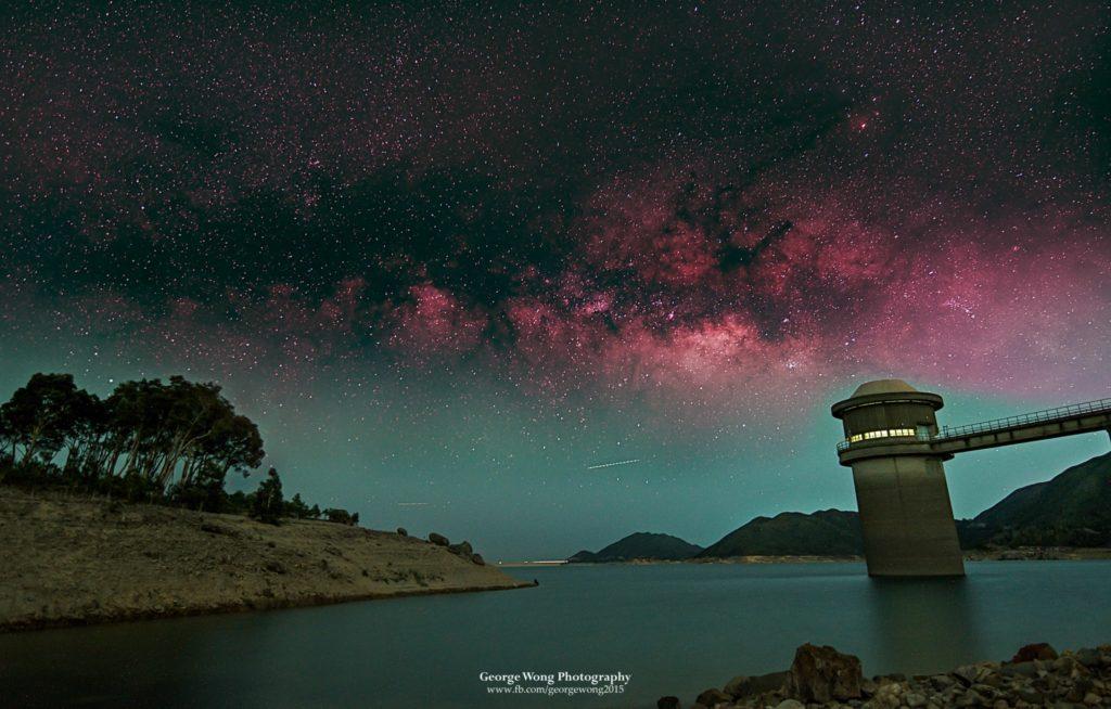 攝於西壩的夏季銀河