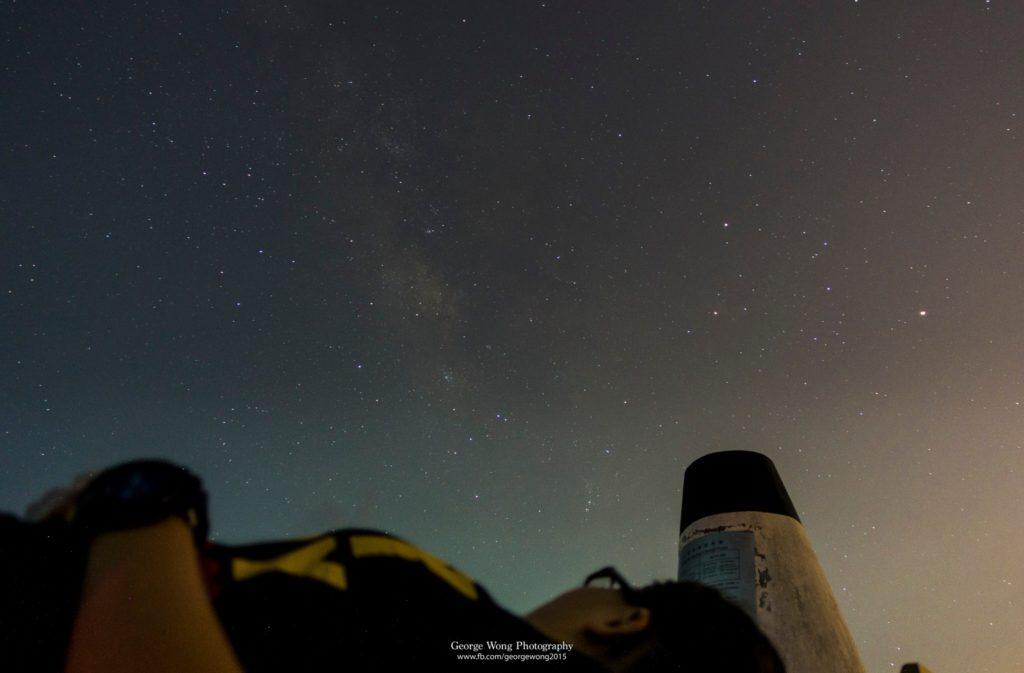 用Sony RX100mk3 24mm拍攝的夏季銀河