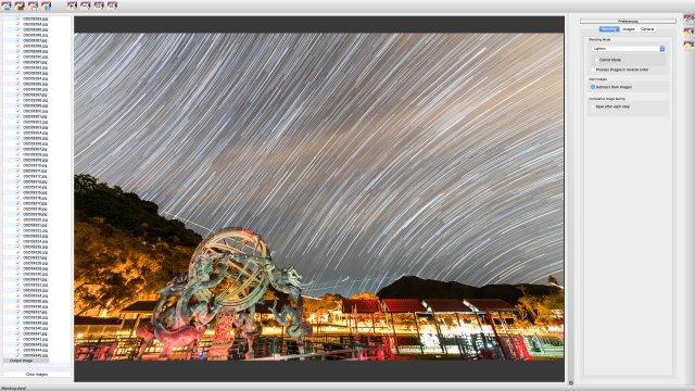 疊星流跡軟件簡單易用, 而且多數也免費。