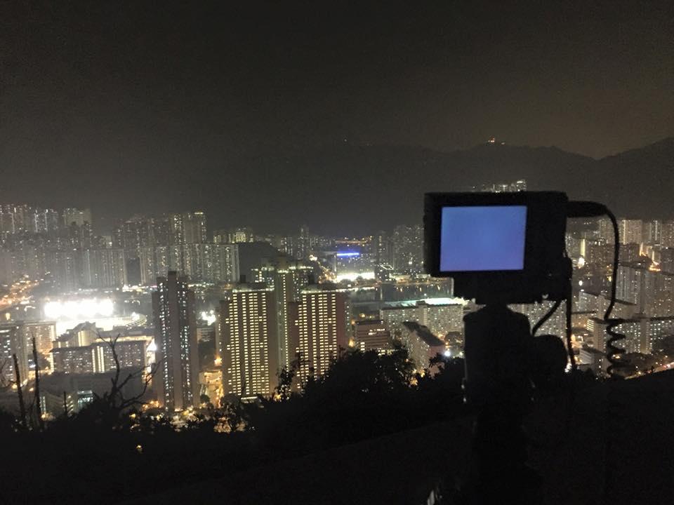 用RX100M3拍攝星流跡,十分方便