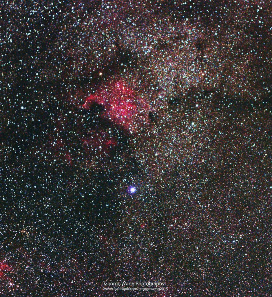 第一次拍攝的深空天體-北美洲星雲
