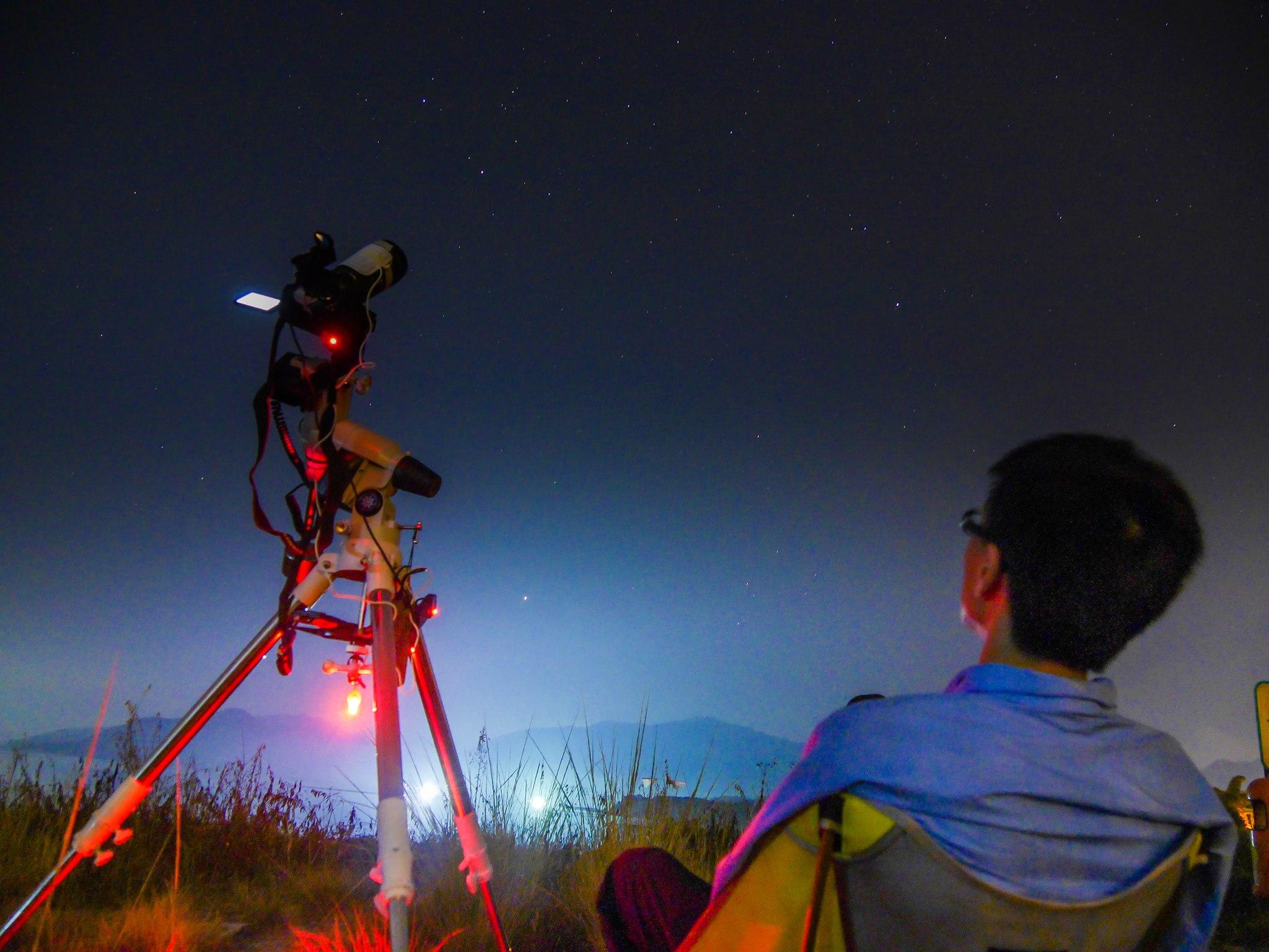 星途12 – 用大mount:Meade LXD75 – 2014 Sept