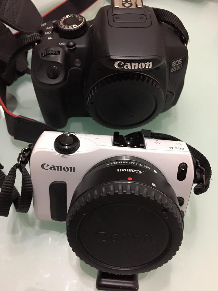 Canon 650D 和EOS-M1