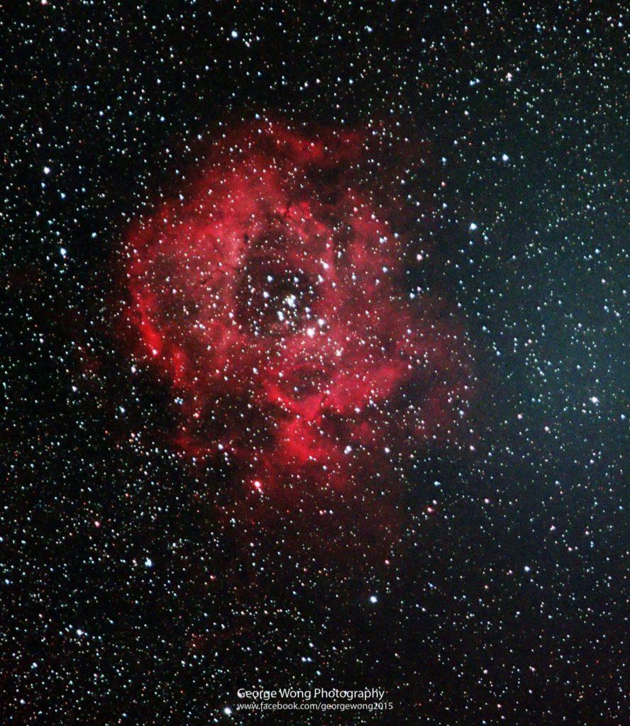 玫瑰星雲(NGC 2237)