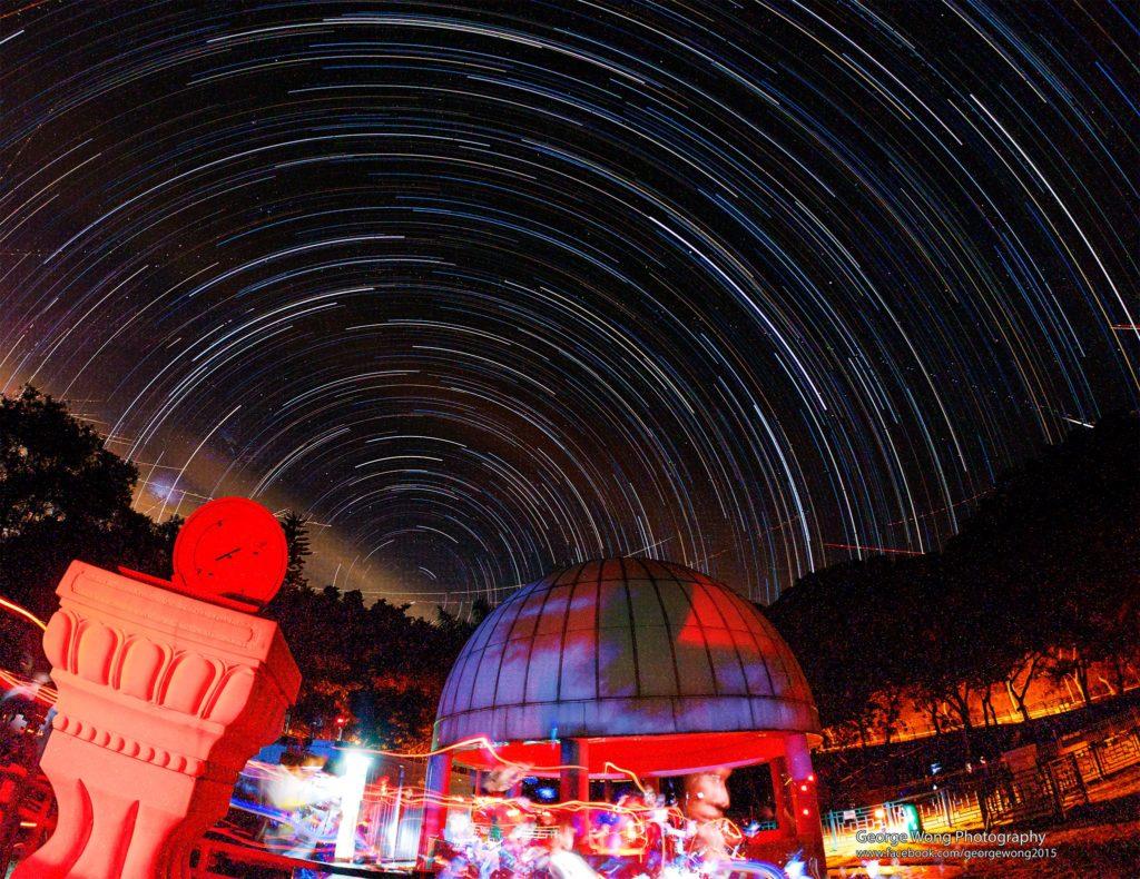 天文公園可望到北極星