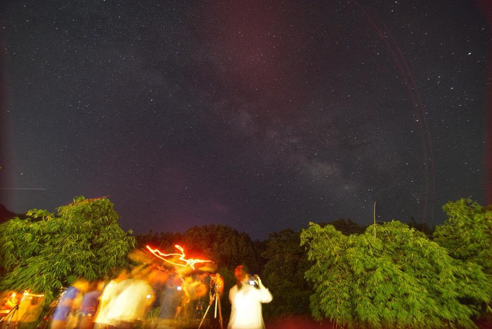 外地的星空真的特別美,相機JPEG直出