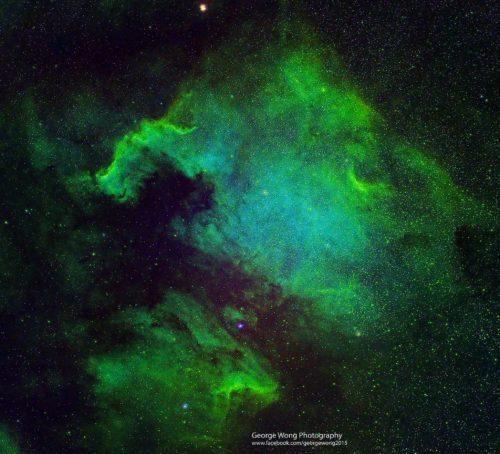 第二次處理北美洲星雲SHO