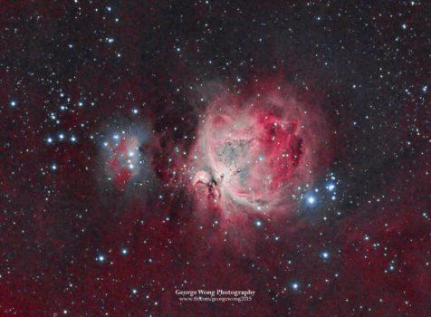 星途24 – 將Ha資料改善原有的相片-HaRGB M42獵戶座大星雲 – 2015 Nov