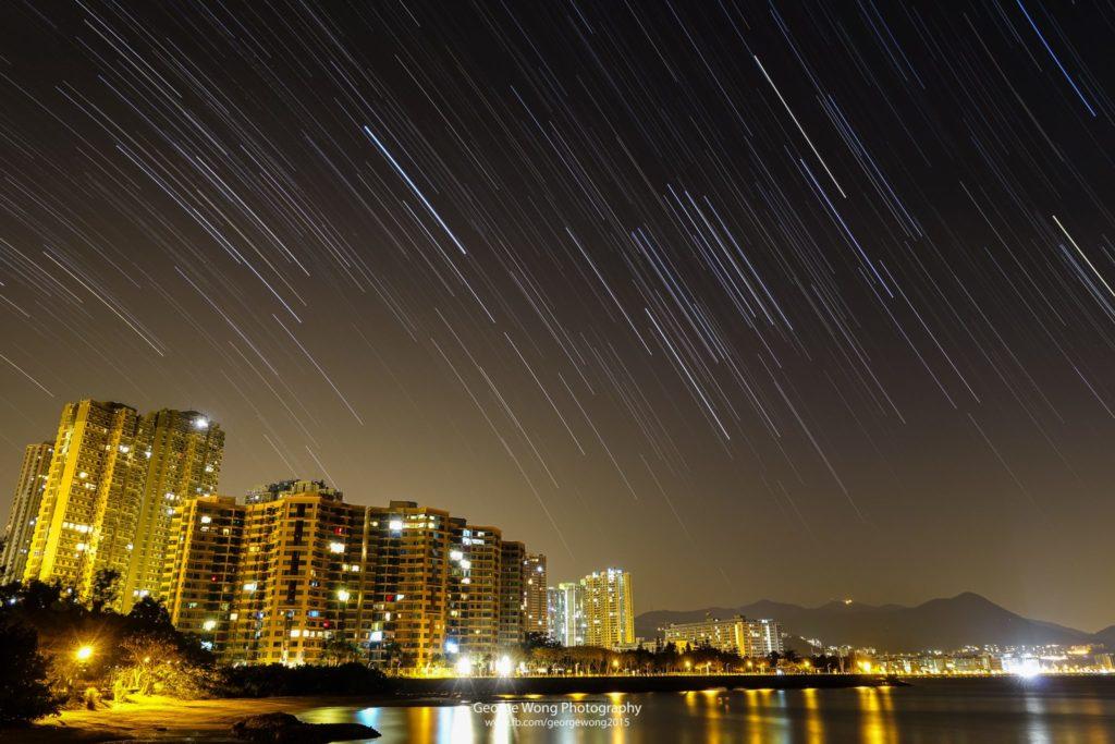 雖然鄰近民居,但在天清的時候,在馬鞍山都能看見不少星星