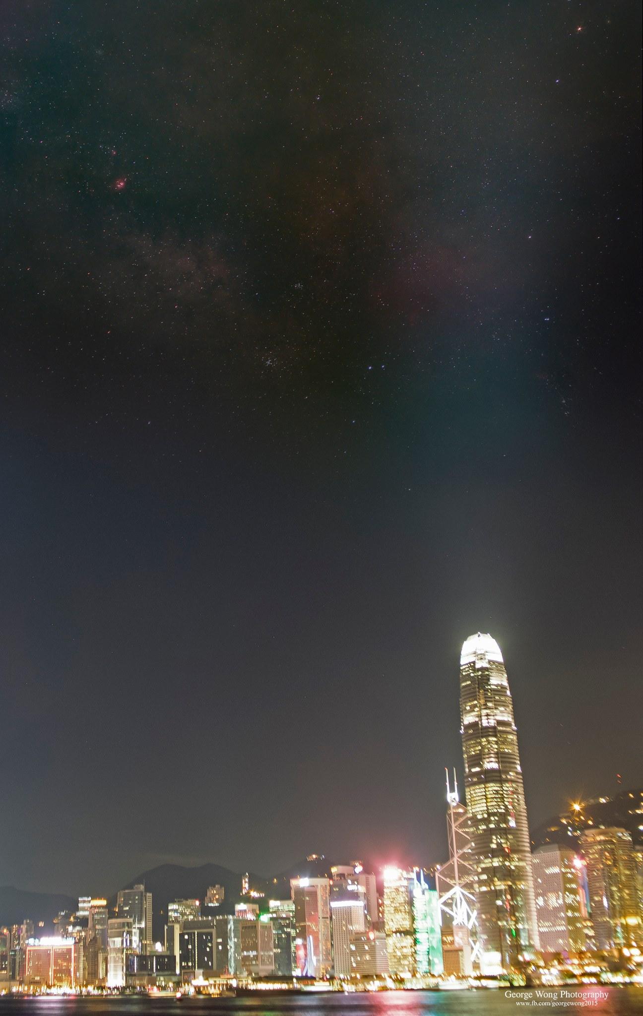 星途29 – 第一次拍城市銀河 – 2016 June