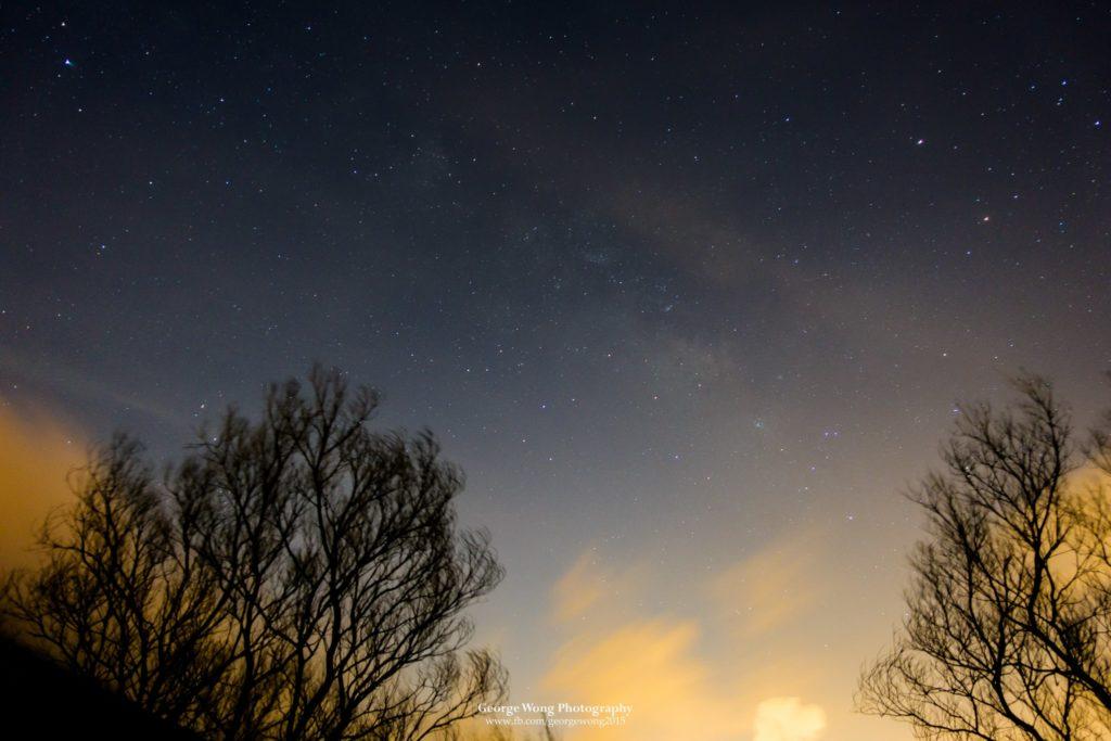 RX100M3單張拍攝的夏季銀河,20s