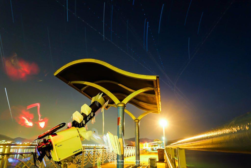 配上天文鏡的Skymemo RS也有非常好的效果