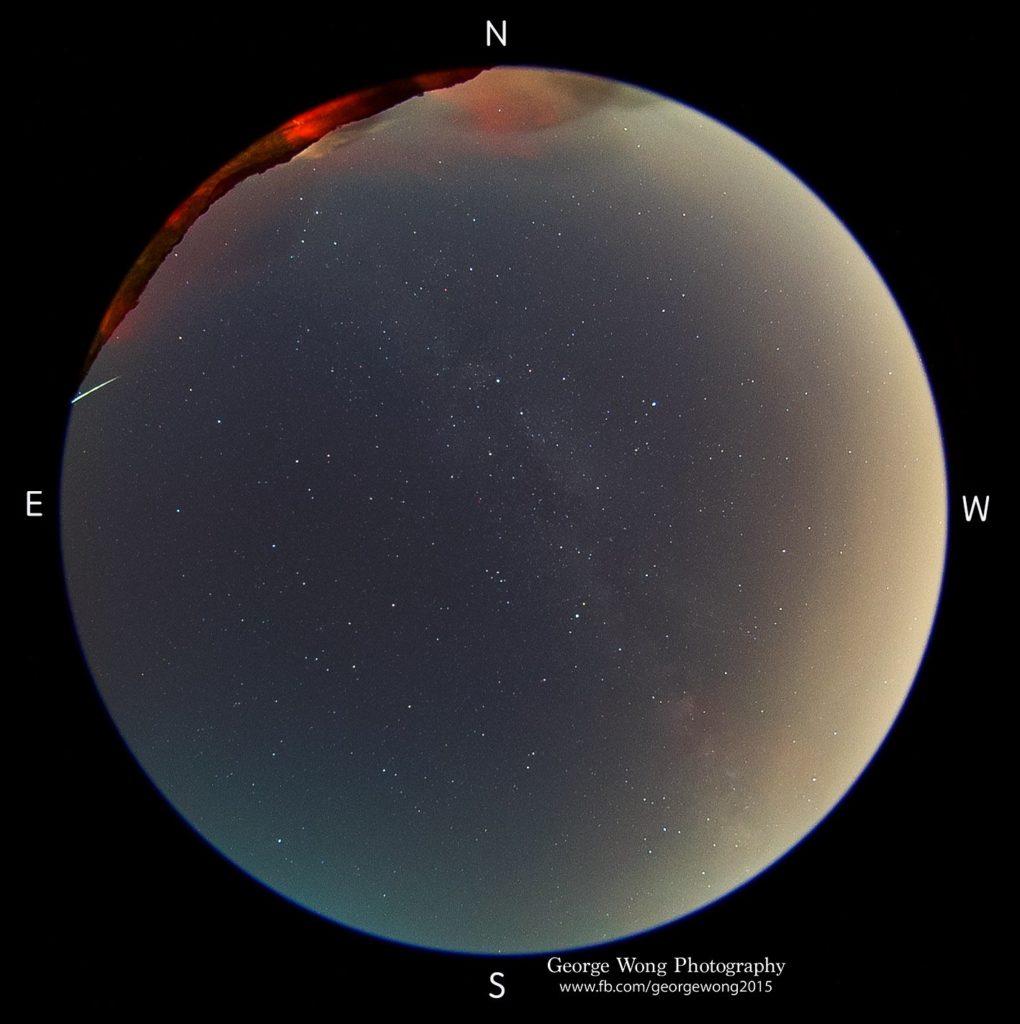 東壩光害少,非常適合觀星和影星