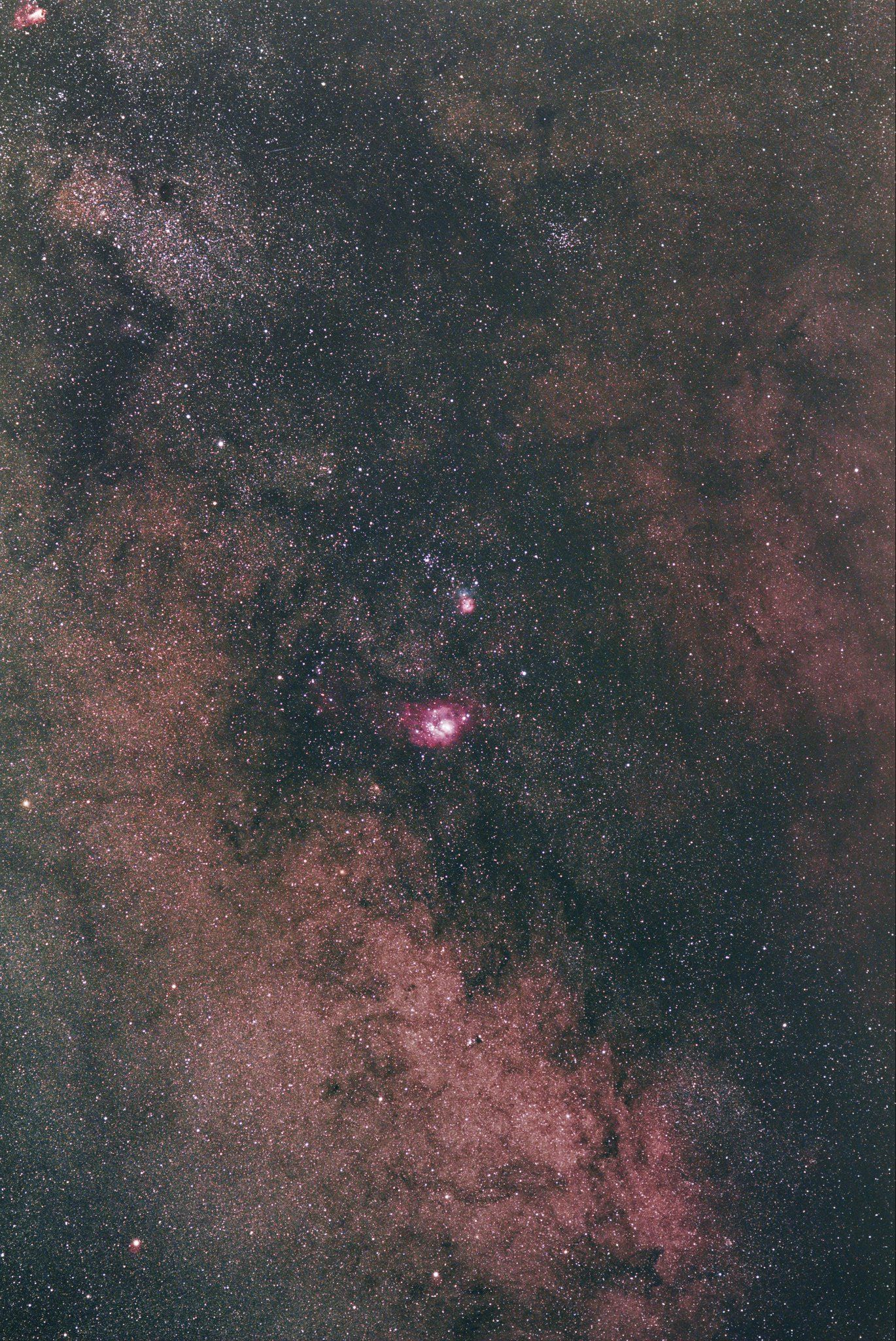 星途9-85mm探索深空天體(DSO)- 2014 July- August